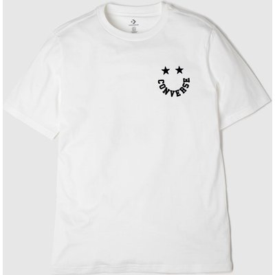 Clothing Converse White Smiley Tee