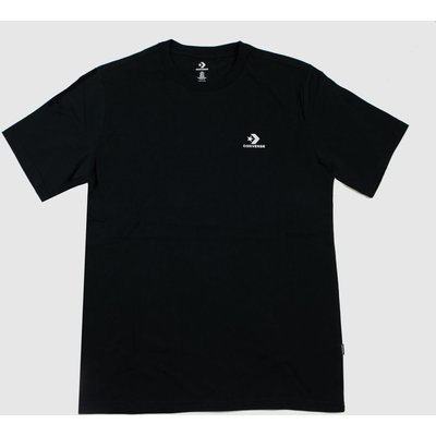 Clothing Converse Black Star Chevron Tee