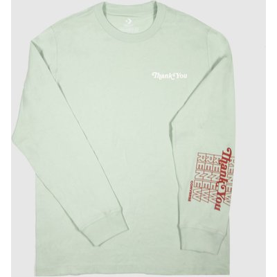 Clothing Converse Light Green Renew Tee