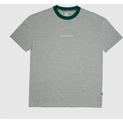 Clothing Converse Grey Os Ringer Tee