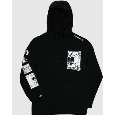 Clothing Converse Black Off Court Po Hoodie