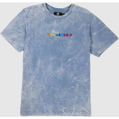 Clothing Converse Pale Blue Pride Tee