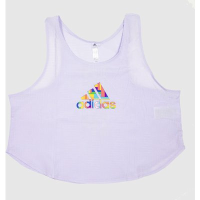 Clothing Adidas Lilac Pride Tech Crop