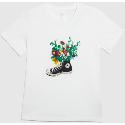 Clothing Converse White In Bloom Graphic Tee