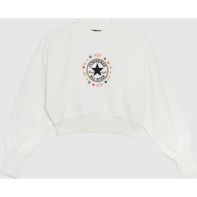 Clothing Converse White & Red Wander Crew