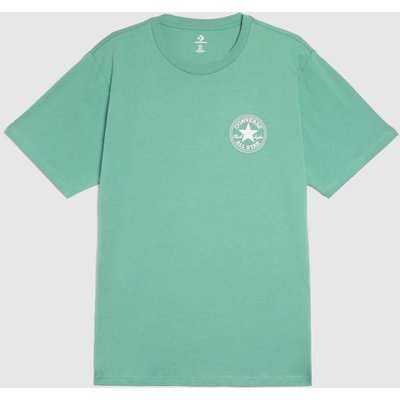 Clothing Converse Green Patch Short Sleeve Tee