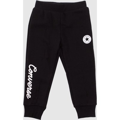 Clothing Converse Black & White Kids Chuck Patch Jogger