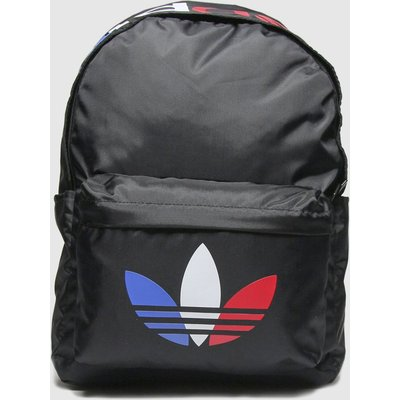 Accessories Adidas Black & Red Tricolor Backpack