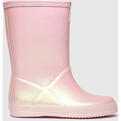 Hunter Pale Pink First Nebula Boots Toddler