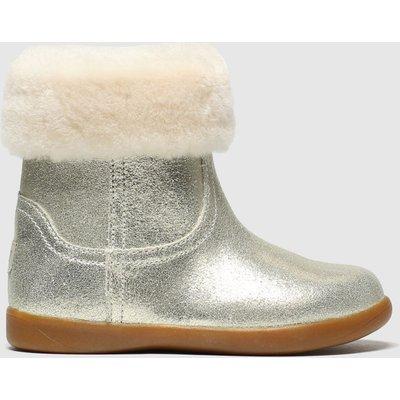 UGG Gold Jorie Ii Metallic Boots Toddler