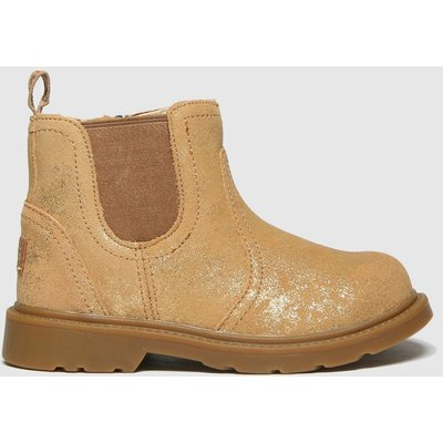 UGG Gold Bolden Metallic Boots Toddler