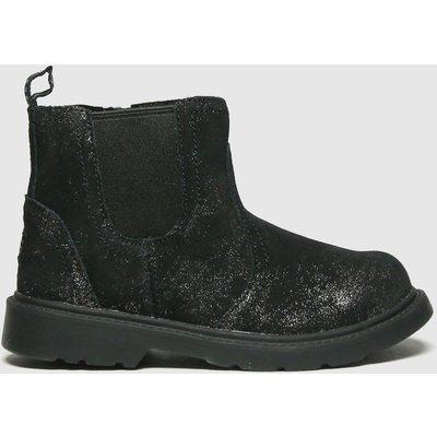 UGG Black Bolden Metallic Boots Toddler