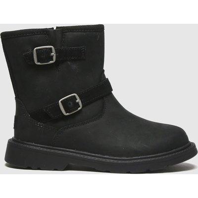 UGG Black Kinzey Boots Toddler