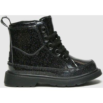 UGG Black Robley Glitter Boots Toddler