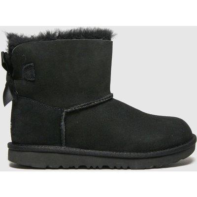 UGG Black Mini Bailey Bow Ii Boots Junior