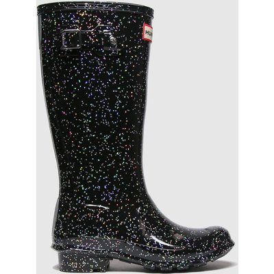 Hunter Black Original Nebula Boots Junior