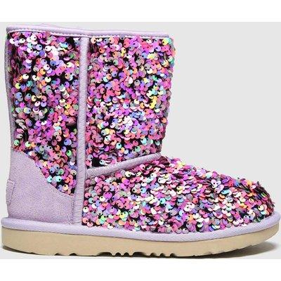 UGG Lilac Classic Ii Sequin Boots Junior