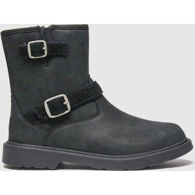 UGG Black Kinzey Boots Junior