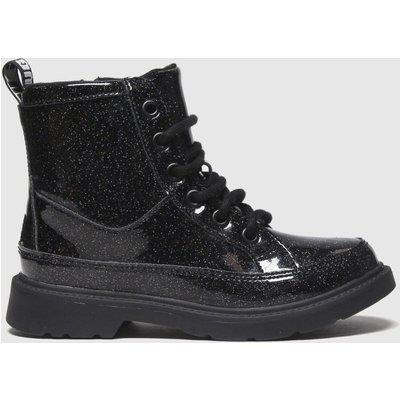 UGG Black Robley Glitter Boots Junior