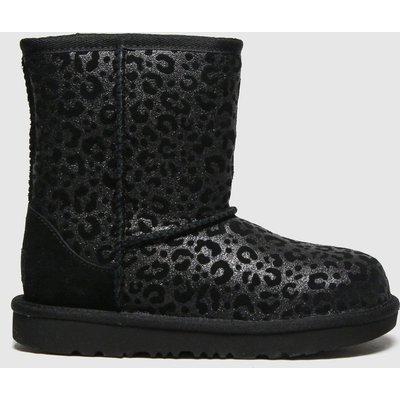 UGG Black Classic Ii Glitter Boots Junior