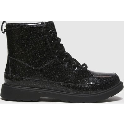 UGG Black Robley Glitter Boots Youth