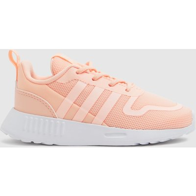 Adidas Pale Pink Multix Trainers Toddler