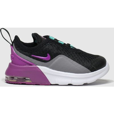Nike Black & Purple Air Max Motion 2 Trainers Toddler