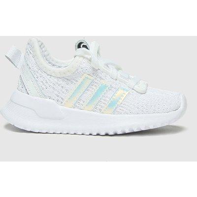 Adidas White & Silver U_path Run Trainers Toddler