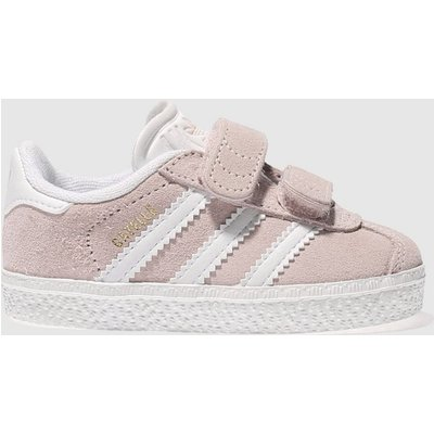 Adidas Pale Pink Gazelle Trainers Toddler