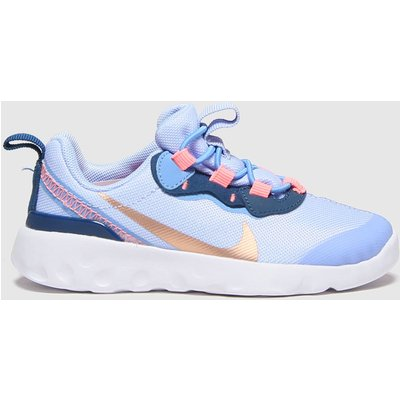Nike Pale Blue Renew Element 55 Trainers Toddler