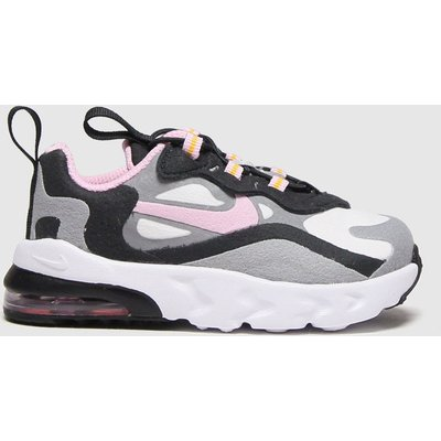 Nike Light Grey Air Max 270 React Trainers Toddler