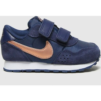 Nike Navy & Gold Md Valiant Trainers Toddler