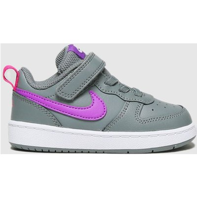 Nike Dark Grey Court Borough Low 2 Trainers Toddler