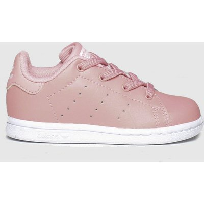 Adidas Pink Stan Smith Trainers Toddler