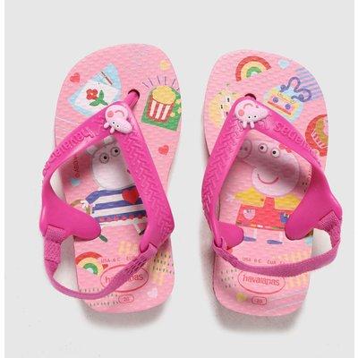 Havaianas Pink Baby Peppa Pig SANDAL Toddler