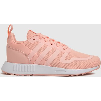 Adidas Pale Pink Multix Trainers Junior