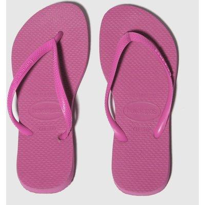 Havaianas Pink Slim Sandals Junior