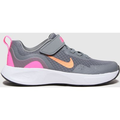 Nike Grey Wearallday Trainers Junior