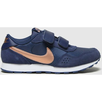 Nike Navy & Gold Md Valiant 2v Trainers Junior
