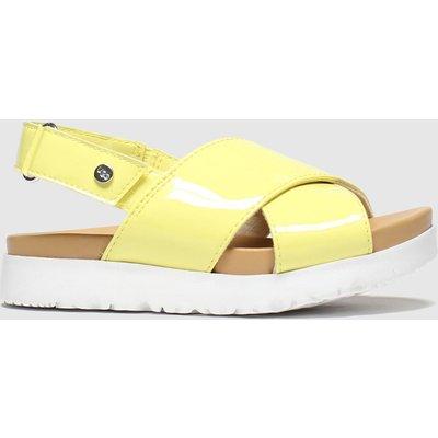 UGG Yellow Klara Sandals Junior