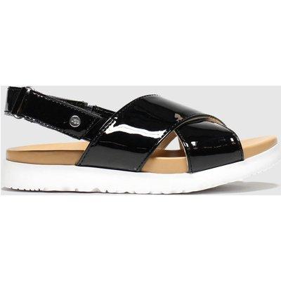 UGG Black Klara Sandals Junior