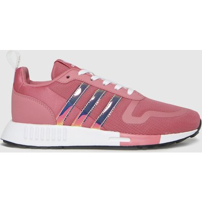 Adidas Pink Multix Trainers Youth