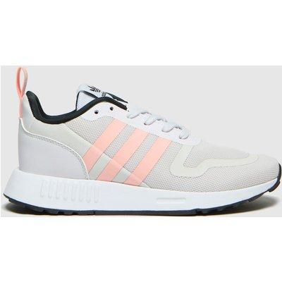 Adidas Light Grey Multix Trainers Youth