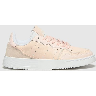 Adidas Pale Pink Supercourt Trainers Youth