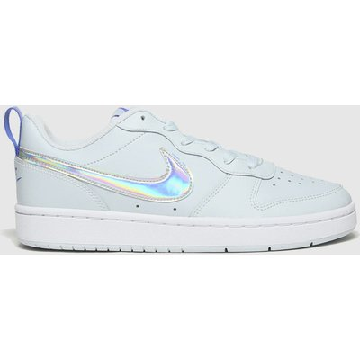 Nike Pale Blue Court Borough Low 2 Fp Trainers Youth
