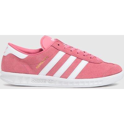 Adidas Pink Hamburg Trainers Youth