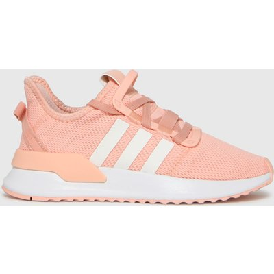 Adidas Pale Pink U_path Run Trainers Youth