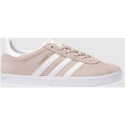 Adidas Pale Pink Gazelle Trainers Youth