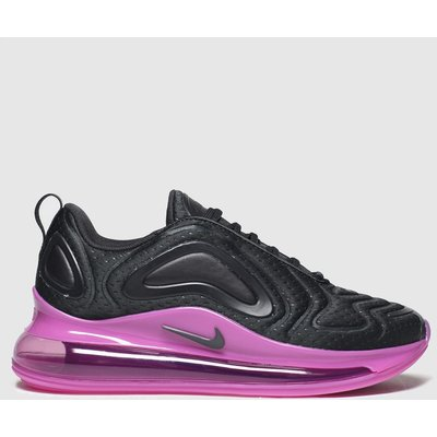 Nike Black & Pink Air Max 720 Trainers Youth