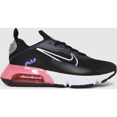 Nike Black & Pink Air Max 2090 Trainers Youth